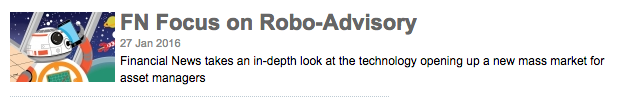 The unstoppable RoboAdvisor trend: Leapfrogging the independents